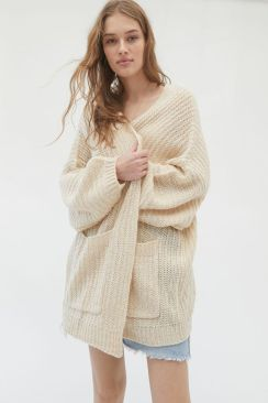 Urban Outfitters Knit Slouchy Cardigan $39